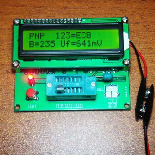 Digital Transistor Tester Capacitor ESR Inductance Resistor
