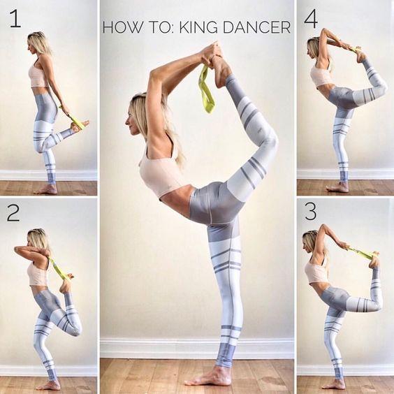 Photo of King Dancer Pose #pilatesposes King Dancer Pose