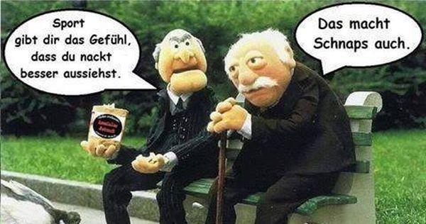 Sport Oder Schnaps Die Muppets Lustige Bilder Humor Geburtstag