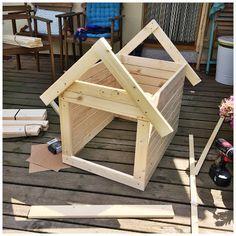 DIY Hundehütte ganz einfach selbst gebaut
