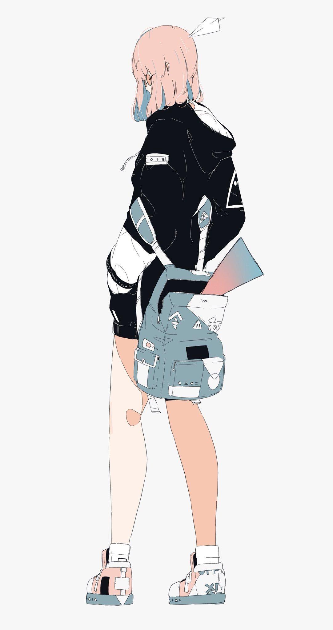 ダイスケリチャード on(画像あり) アニメの女の子, アニメの描き方, かわいい イラスト 女の子
