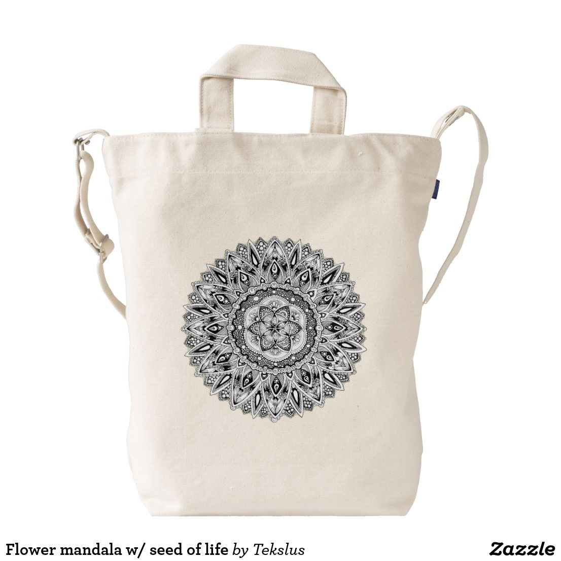 Flower mandala w/ seed of life
