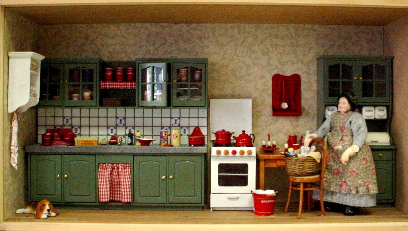 antiek groene keuken.JPG (1593×903)