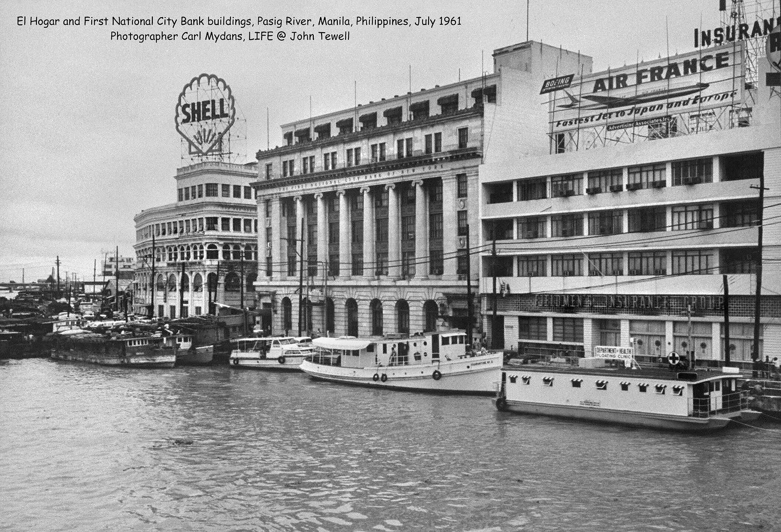 El Hogar and First National City Bank buildings, Pasig