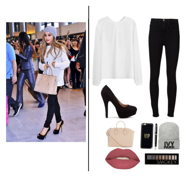 """Ariana grande"" by noorcretier on Polyvore featuring mode, Frame Denim, Givenchy, Casetify, Ivy Park, Smashbox, Forever 21 en Fountain"