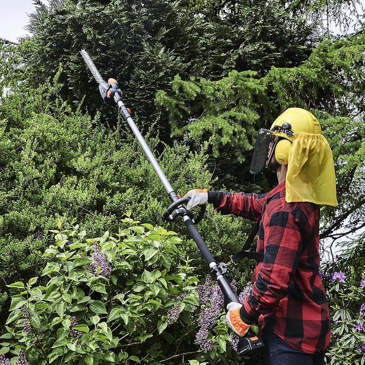 Hedge trimmers may be less powerful than other garden