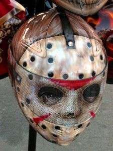 Jason motorcycle helmet