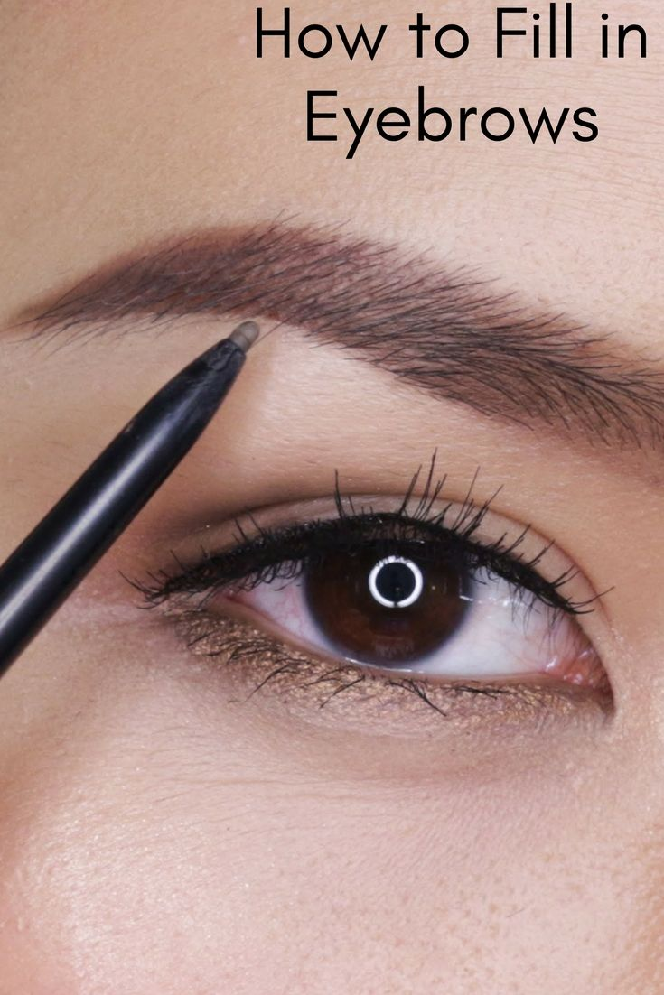 Get Fuller Brows In No Time Beautyessential Beautytips We