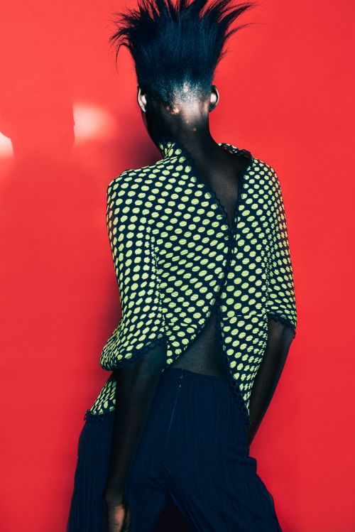 Dauda Hauwa Asingar for South African designer Marianne Fassler Resort 2015 by…