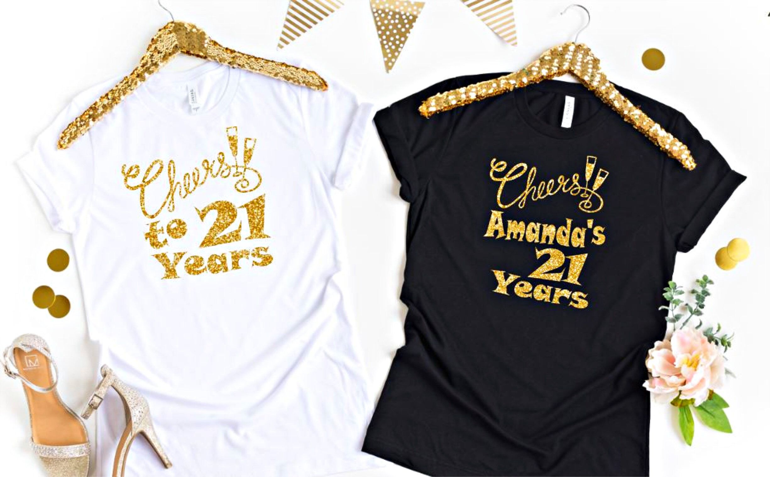 7d04f1f6 Excited to share this item from my #etsy shop: Twenty First Birthday Shirt  - 21st Birthday Shirt - Sip Sip Hooray Birthday - Birthday Shirt For Women  21 ...