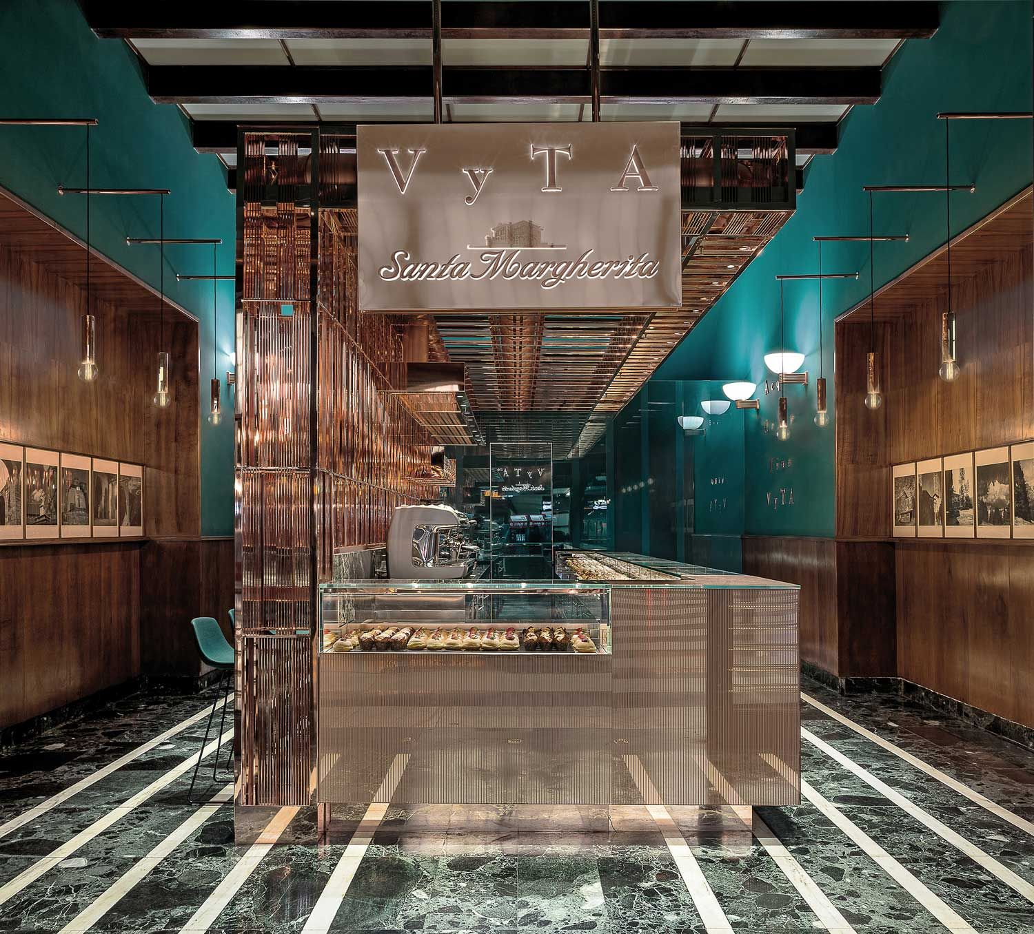 Vyta Santa Margherita Florence By Daniela Colli Bar Design Restaurant Cafe Design Bar Design Awards