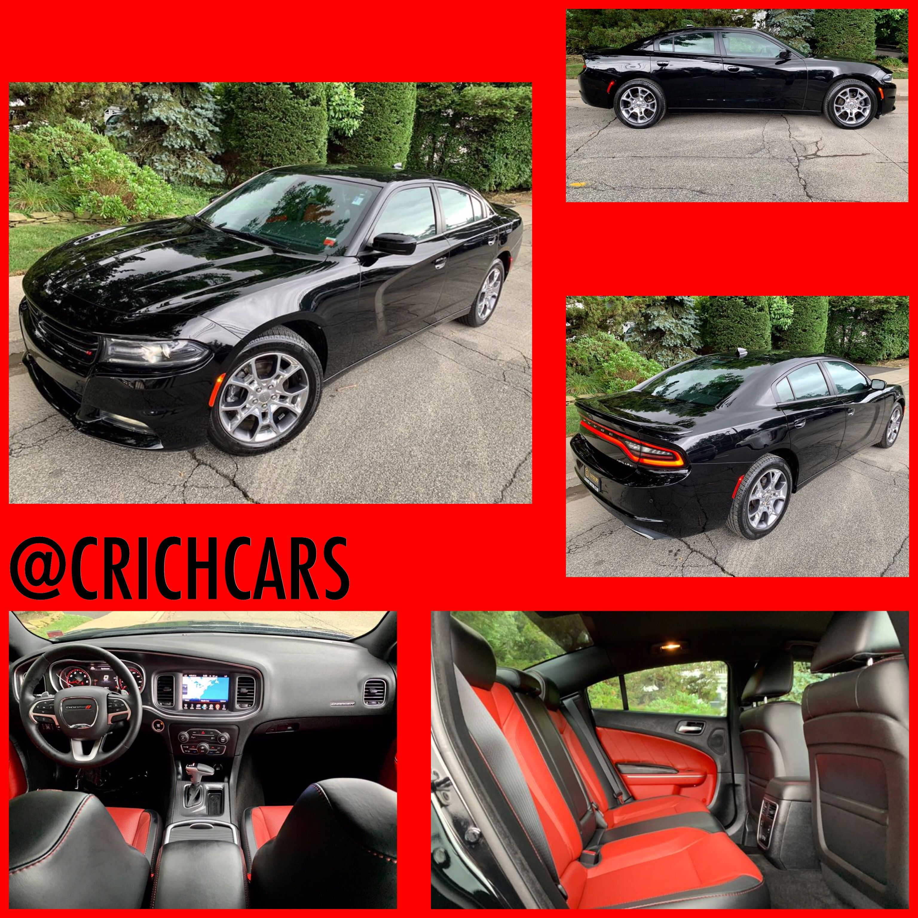 2016 Bright Dodge Charger Sxt Awd 107724649 Photo