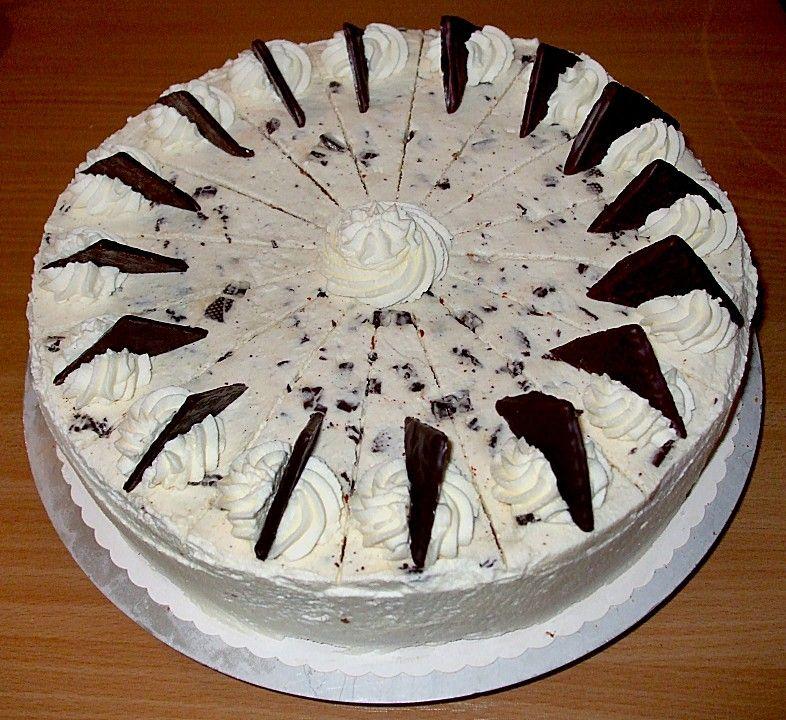 Schnelle After Eight Torte Susse Leckereien Torte After Eight