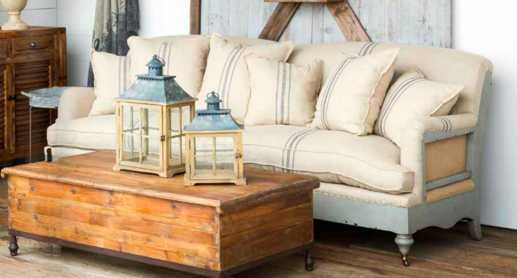 Deconstructed Farmhouse Sofa The Most Beautiful Sofa In The
