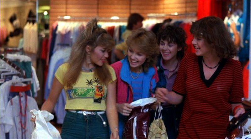Valley Girl 1983 Lookback Review Valley Girls Funny Movie