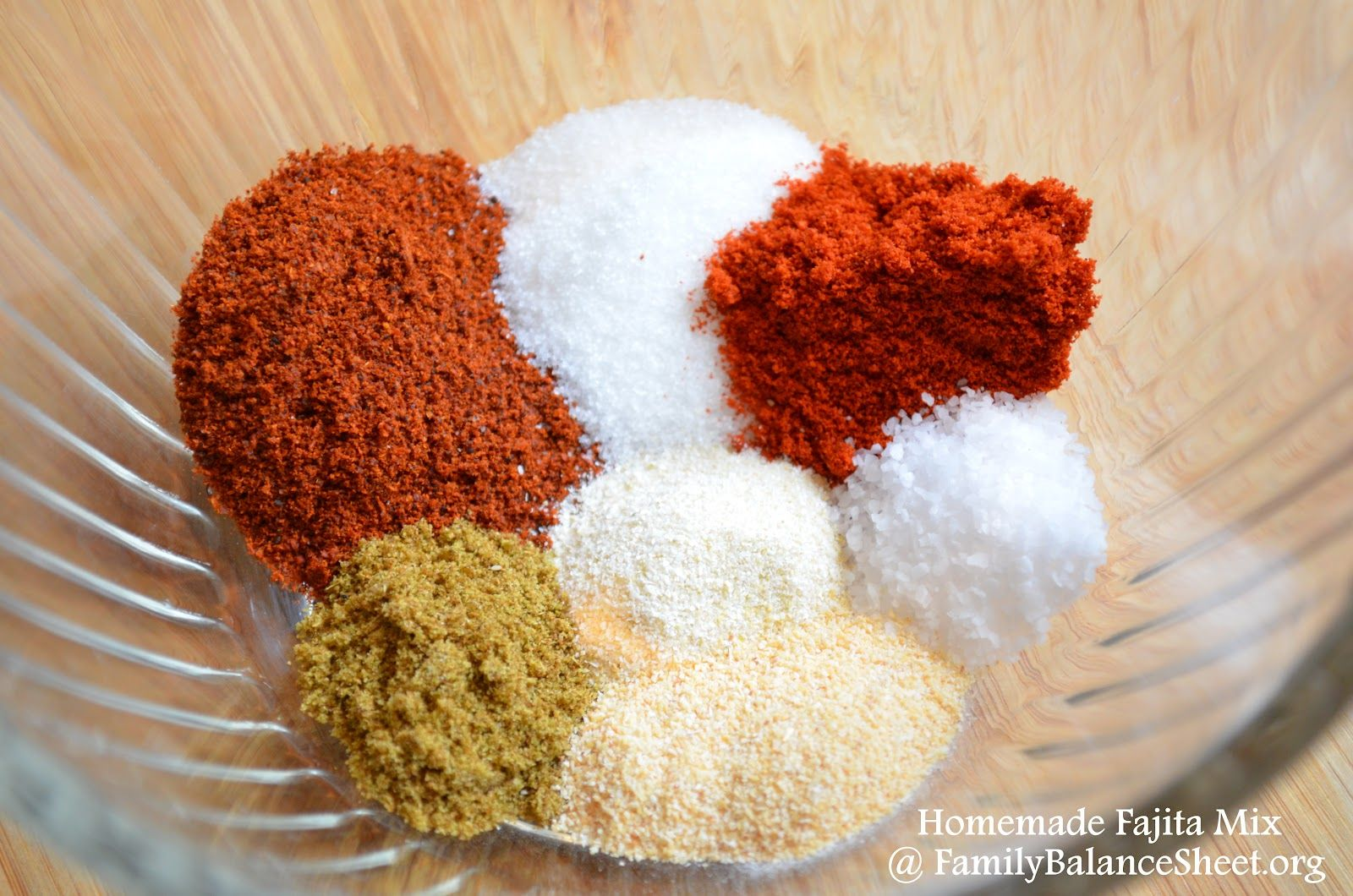 Homemade Fajita Seasoning - Family Balance Sheet
