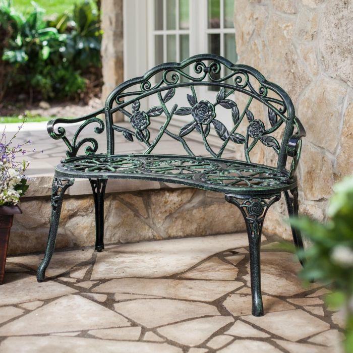 Elegant Billig Gartenmöbel Aus Metall Günstig. Deko