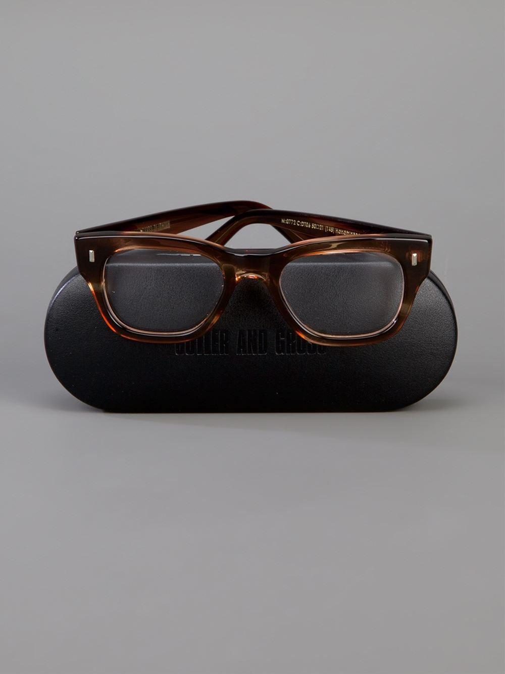 cef1abae1a428 Cutler   Gross Wayfarer Glasses - Mode De Vue - Farfetch.com ...