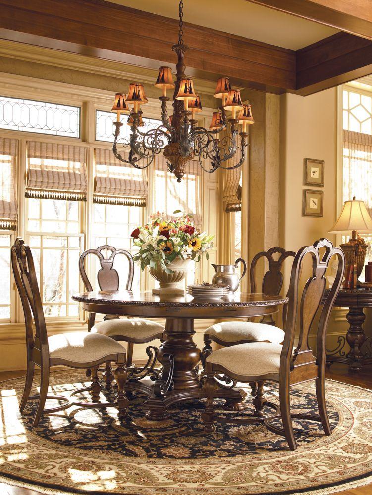 Universal Furniture Bolero Seville Round Dining Table