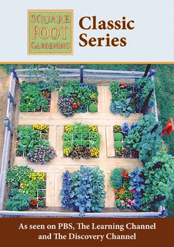 Charming Square Foot Gardening Store   Square Foot Gardening Classic TV Series,  $49.99 (http: