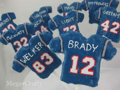Rice Krispies Treats Football - #superbowl