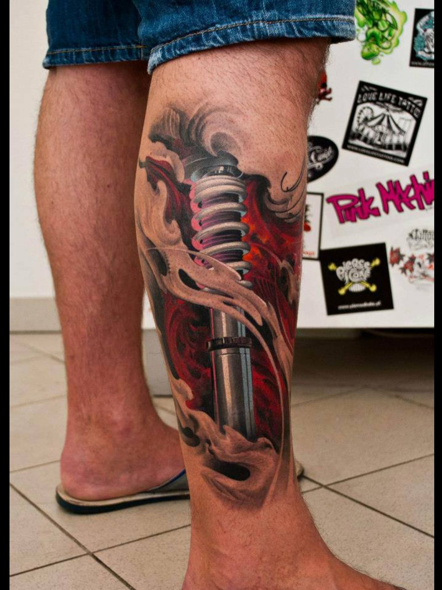 3d tattoos that will boggle your mind bizarbin - Bionic Tattoo