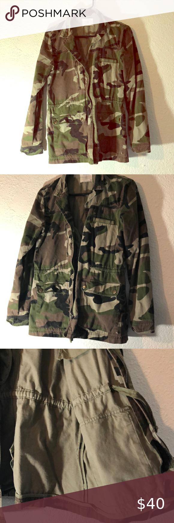 Pull Bear Camo Jacket Camo Jacket Jackets Bear Jacket