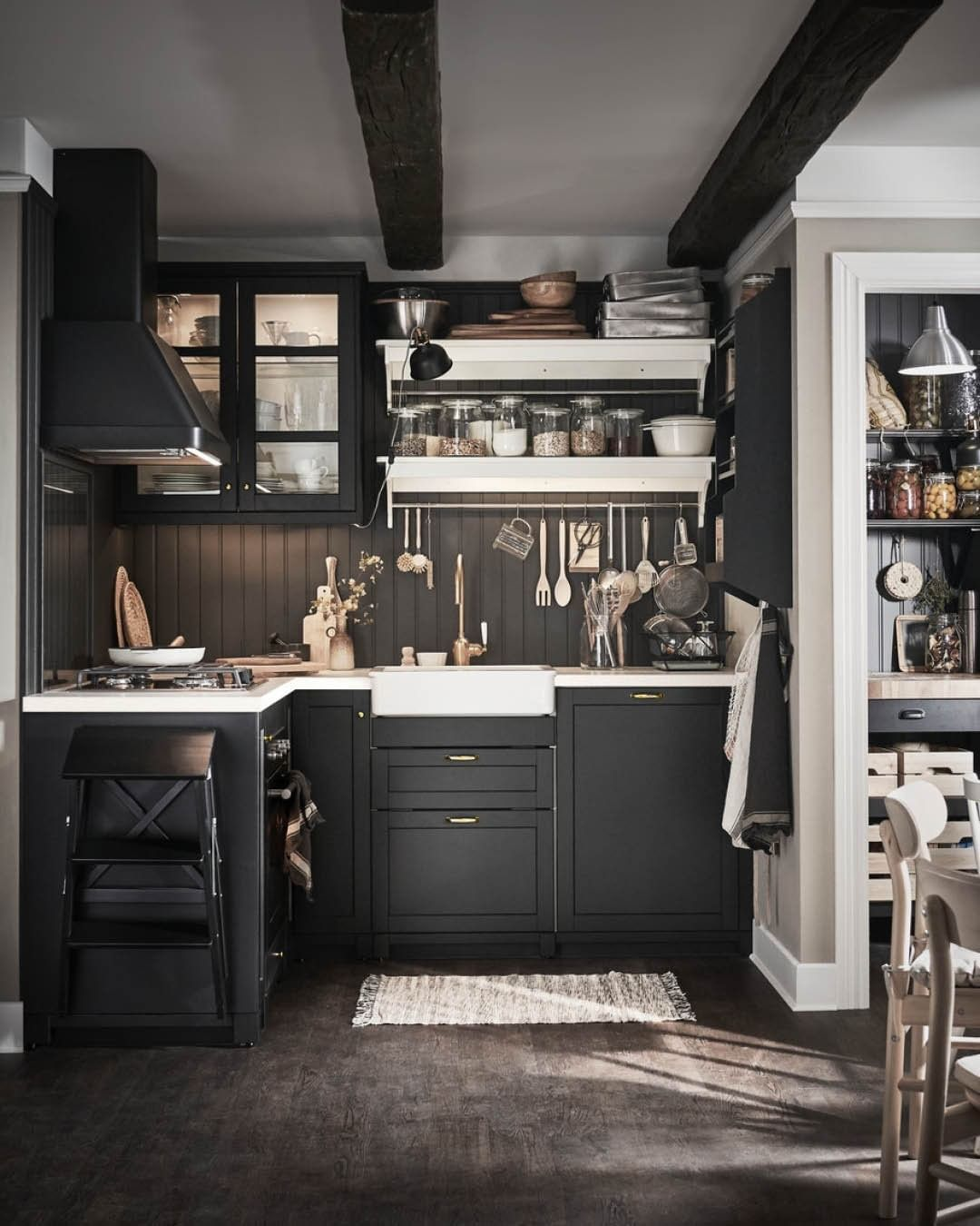 A Cosy Kitchen With Rustic Charm For Lots More Inspo