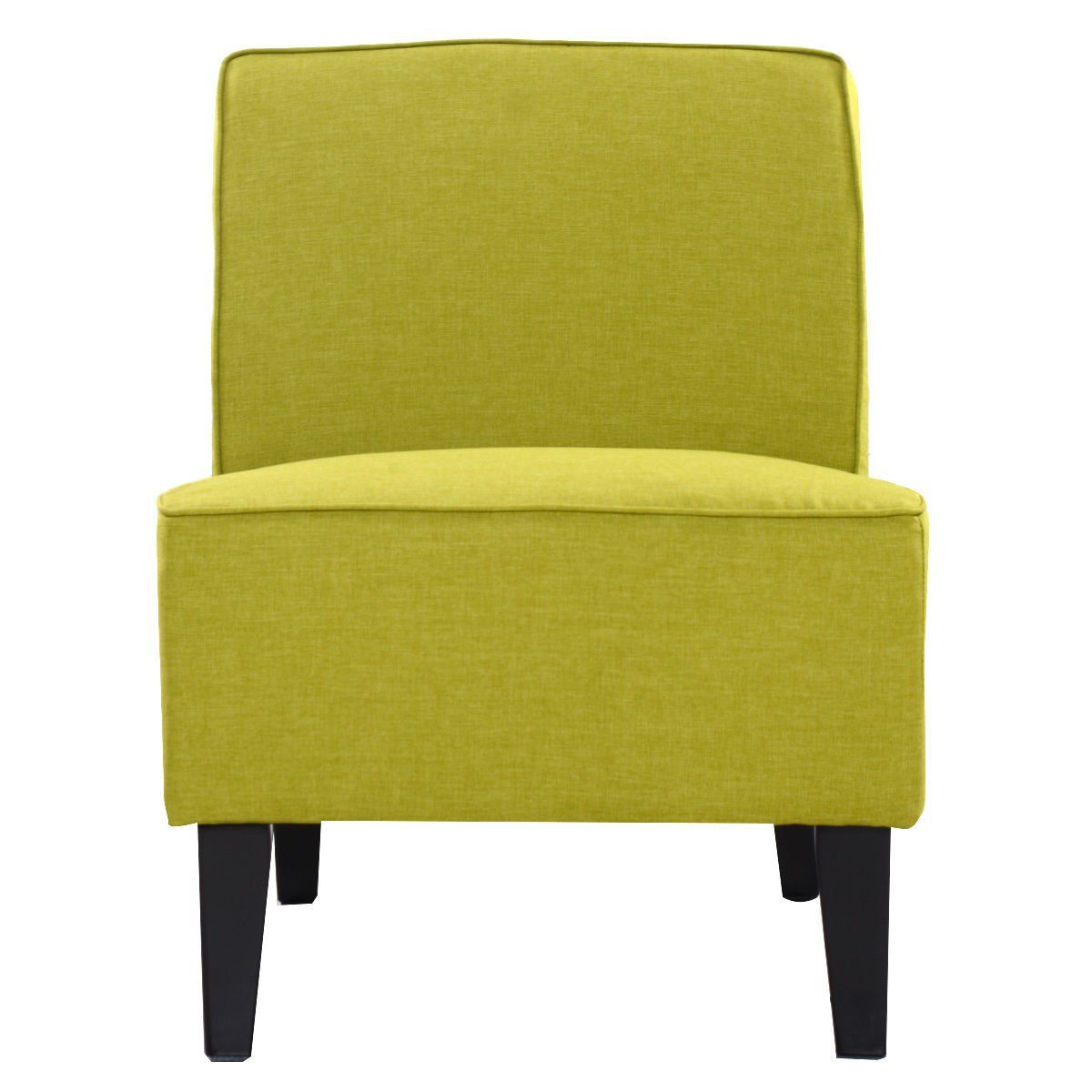 Amazing Giantex Deco Solids Accent Chair Armless Living Room Bedroom Gmtry Best Dining Table And Chair Ideas Images Gmtryco