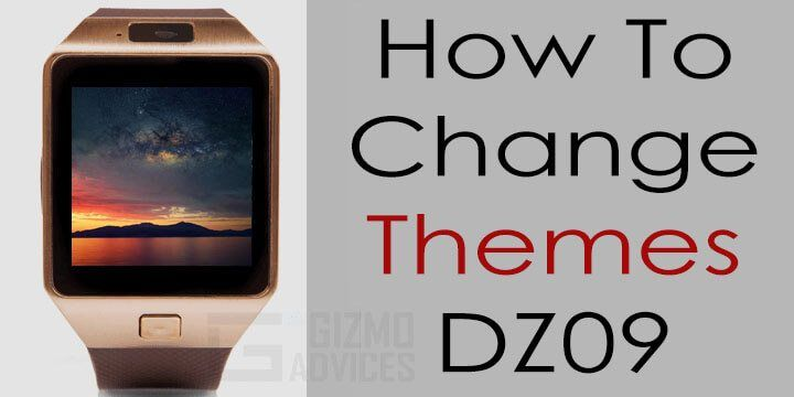 How To Change Themes On Dz09 Smartwatch Phone Android Wearable