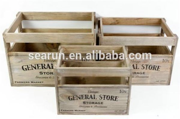 Natural Wood Box Fruit Crate Wooden Vegetable Crates Find Complete