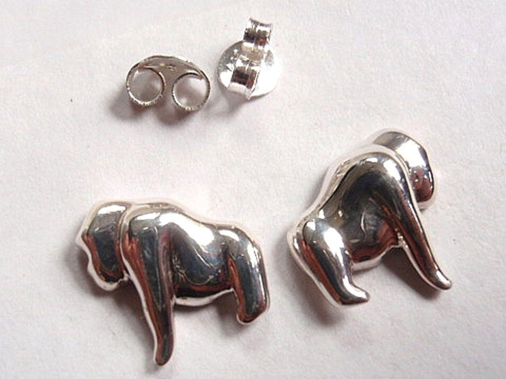 Frogs 925 Sterling Silver Stud Earrings Corona Sun Jewelry