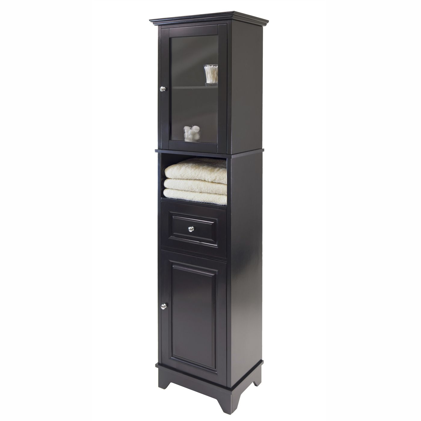 Bon Shop Winsome Wood 20871 Alps Tall Decorative Storage Cabinet, Black At  Loweu0027s Canada. Find Our Selection Of Cabinets U0026 Stackable Cubes At The  Lowest Price ...