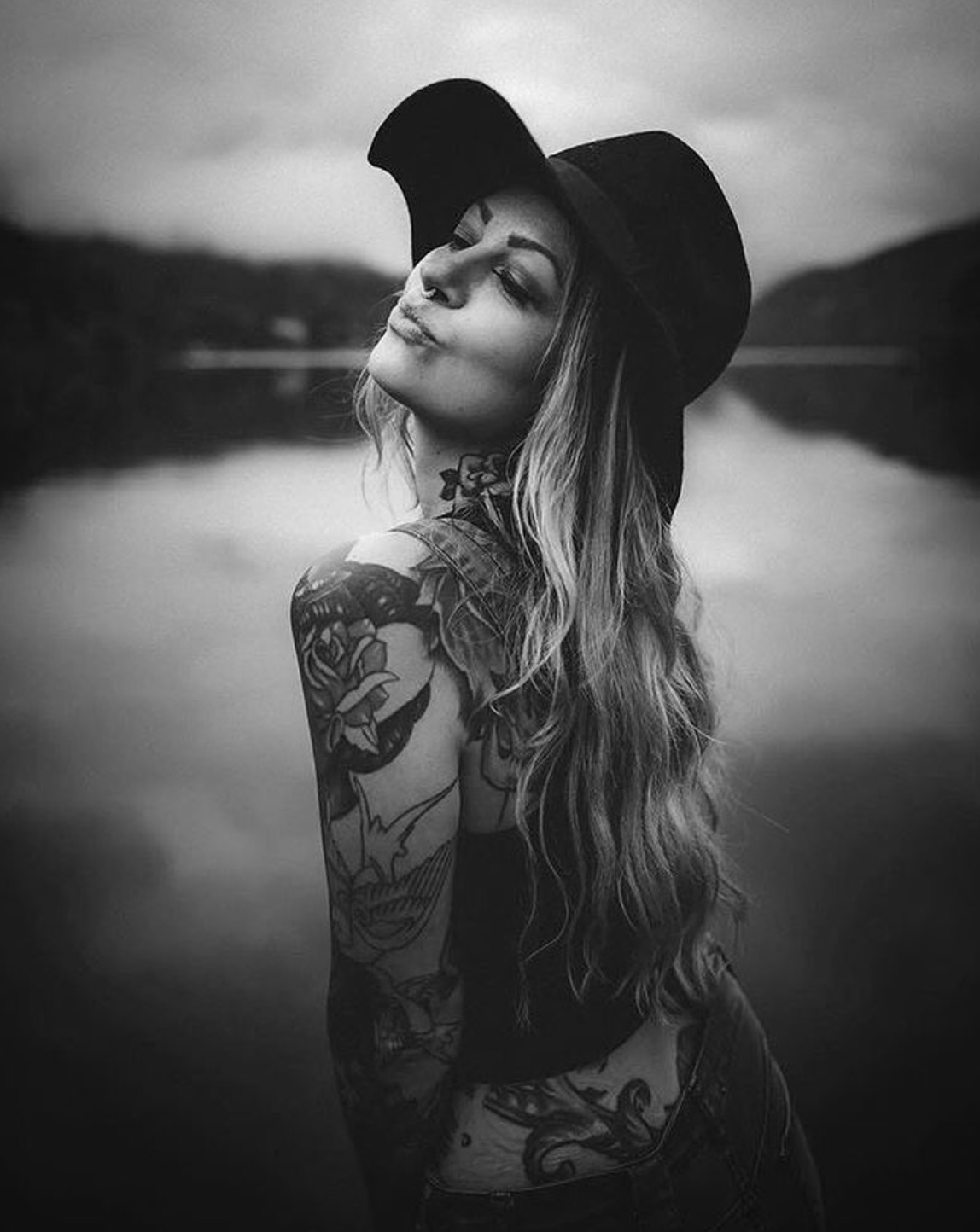 Girl With Tattoos Photography