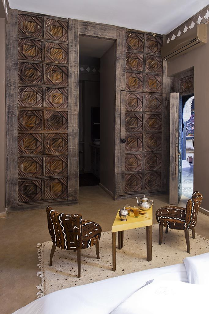 Riad goloboy boutique hotels we hotel decor african - African american interior designers chicago ...