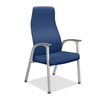 vinyl patient chair with wallsaver legs  national