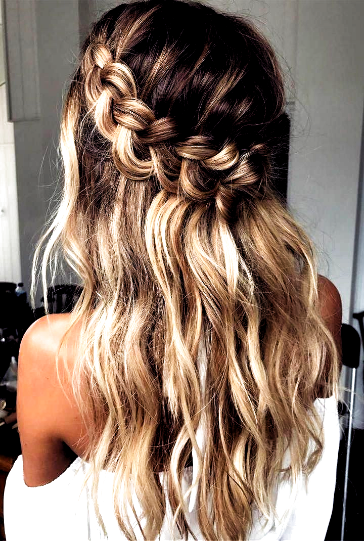 Hair Hair In 2020 Braided Hairstyles For Wedding Hair Lengths Braids For Long Hair
