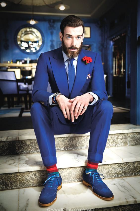 Groom Fashion Inspiration – 45 Groom Suit Ideas | Navy groom suits ...