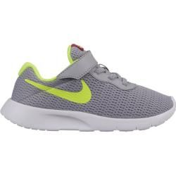 Photo of Nike kids running shoes Nike Tanjun (psv), size 28 in Wolf Gray / volt-Rush Pink, size 28 in Wolf Gre