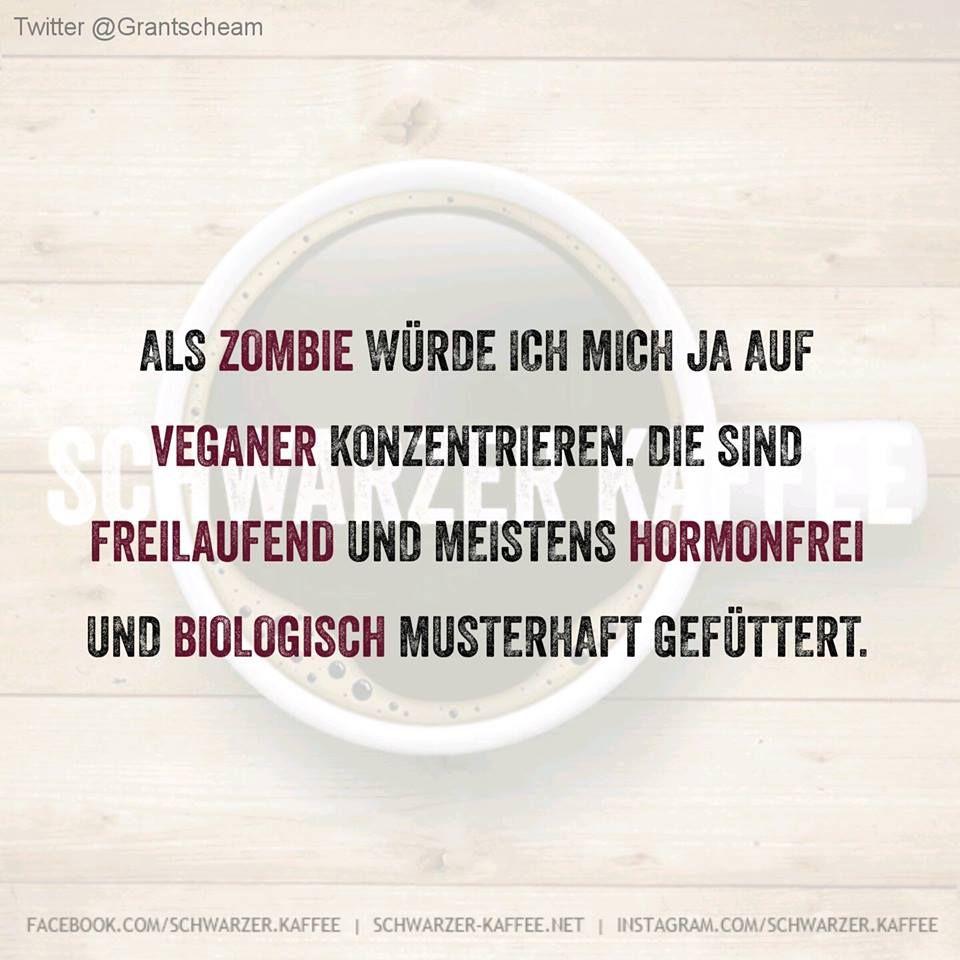 Als Zombie würde ich mich ja auf Veganer konzentrieren. Die sind Freilaufend und meistens Hormonfrei und biologisch musterhaft gefüttert.