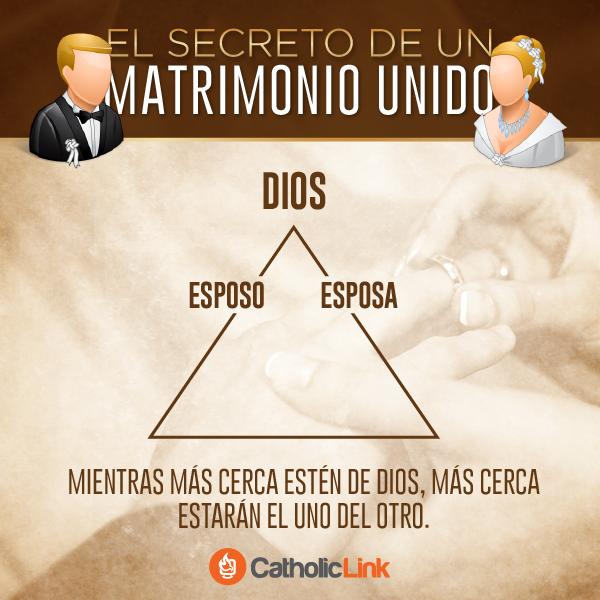 Mensagem Matrimonio Catolico : El secreto de un matrimonio unido mientras más cerca