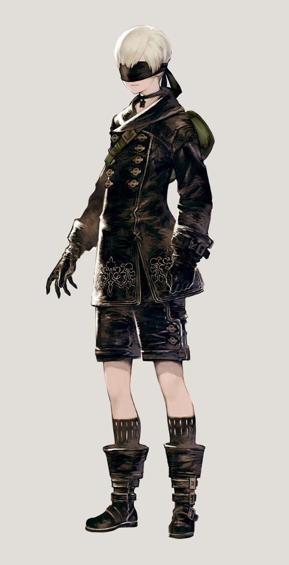 Character Design Nier Automata : Yoruha no type s nier:automata キャラクター・衣装 pinterest