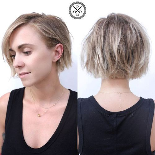 Wash And Go Hairstyles For Fine Hair 70 Fabulous Choppy Bob Hairstyles  Pinterest  Fine Hair Bobs And