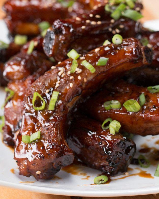 Deep Fried Sticky Ribs Recipes Rib Recipes Food