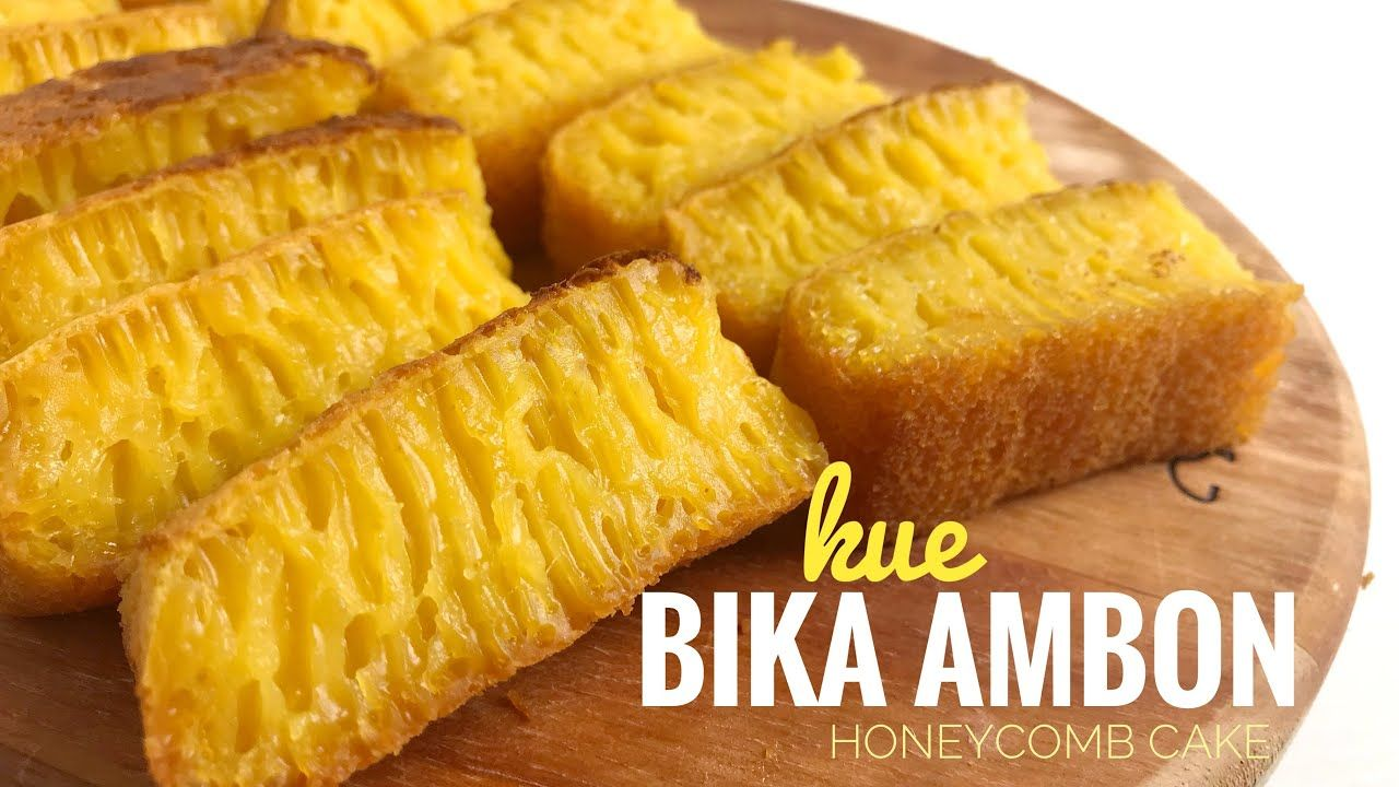 Bika Ambon Legit Mudah Easy Honeycomb Cake Youtube Honeycomb Cake Food Food And Drink