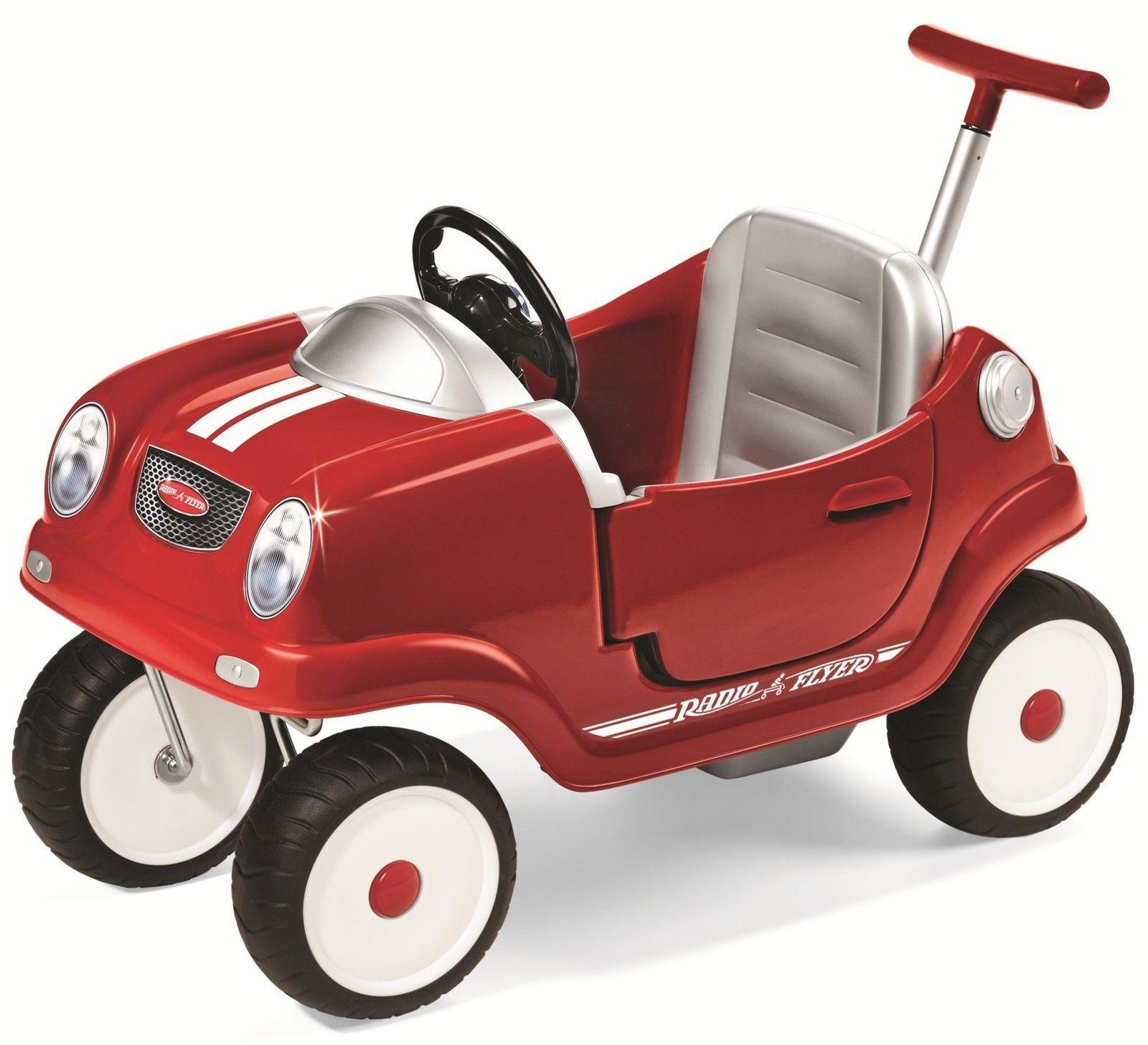 Steer N Stroll Coupe Push Car Kids Stroller Toddler Toys Child