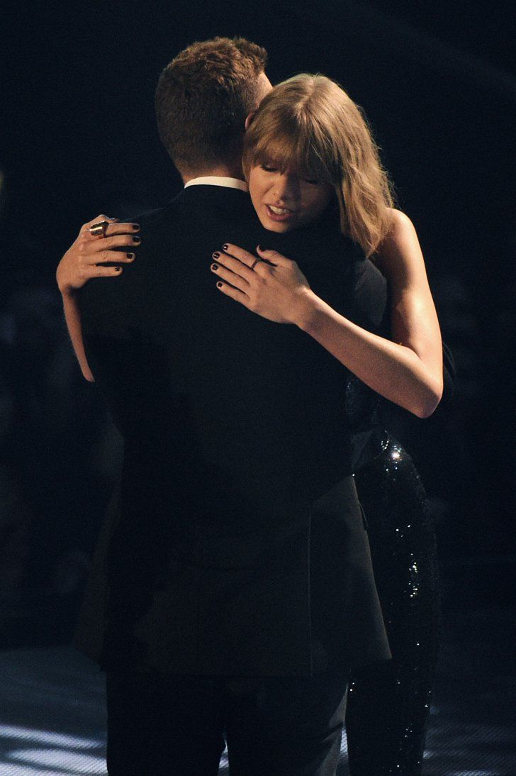 Pin for Later: Justin Timberlake Makes a Sexy Appearance at the iHeartRadio Awards to Support Taylor Swift