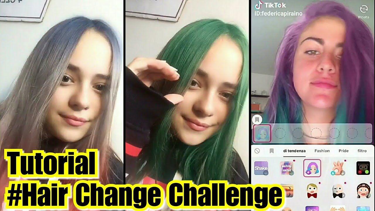 Tiktok Tiktokmaniac Tiktoktutorial Musically Tutorial Tutorial Hair Change Challenge Tiktok Musically Video Tutorial