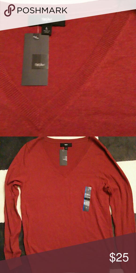 Nwt Mens Mossimo V Neck Sweater Nwt My Posh Picks Sweaters