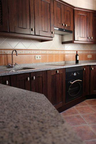 diseño de #cocinas Diseño de cocinas en Chinchon madera rustico ...